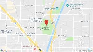 Anaheim Angels Stadium Seating Chart Angel Stadium Of Anaheim In Anaheim Ca Concerts Tickets