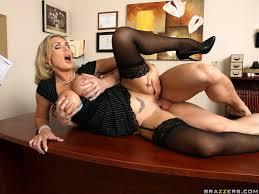 Big Tits at Work Sample Pic 13 Busty secretary MILF fucking in.