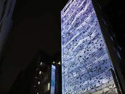 4 the dear ginza building in tokyo named for the posh neighborhood it stands in has a crumpled exterior design firm amano design office says it wanted beautiful office buildings