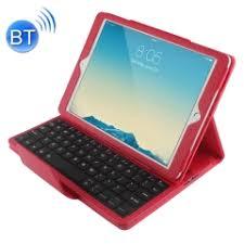 For iPad Air 2 Bluetooth <b>Keyboard Litchi</b> Texture Smart <b>Cover</b> ...