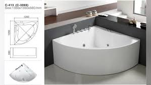two person soaking tub. Perfect Tub 1500Mm Small Round Acrylic Bathtub Multifunction Two Person Free Standing Soaking  Tub Throughout 2