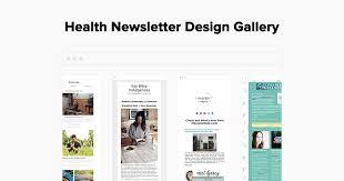 Wellness Newsletter Templates Health Email Newsletter Examples Gallery Mailerlite