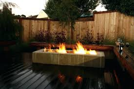 gas fire pit on wood deck best fire pit for wood deck decking outdoor gas fire