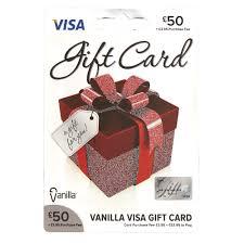 vanilla visa card 50 gift card image