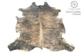 brindle cowhide rug dark x large h by hides light pillow covers chair brindle cowhide beige rug