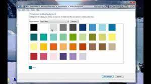 Change the Windows 7 Desktop Background ...