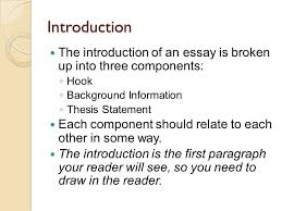 five paragraph essay writing introduction the introduction of an  2 introduction