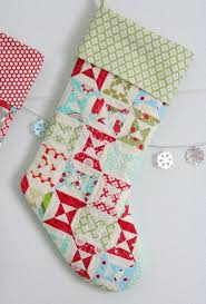 Christmas Stocking Pattern With Cuff Stunning Stocking Tutorial Cluck Cluck Sew