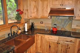 Awesome Double Farmhouse Sink And Unfinished Wooden Rustic Rustic