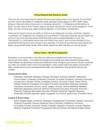 Action Words For Resume Fresh Teacher Resume Cover Letter Example