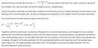 steps to find standard deviation math enter the values for sle size an and low and