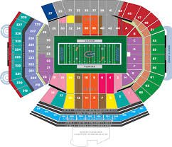 Sc Gamecock Football Seating Chart Ben Hill Griffin Stadium Seating Chart Its A Gator Life