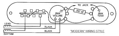 tele wiring battle royale vintage vs modern lollar pickups blog a typical modern telecaster wiring schematic