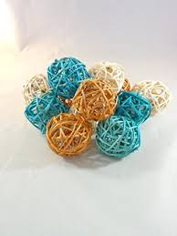 Teal Decorative Balls