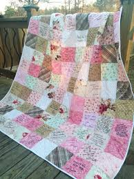 Best 25+ Wedding guest quilt ideas on Pinterest | Quilt guest ... & Wedding Guest Book Quilt Large Throw by southerncharmquilts - another good  etsy… Adamdwight.com