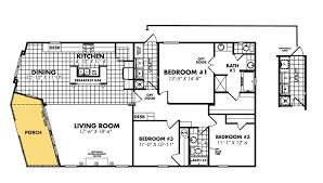 floor plans 1 bedroom mobile homes grayford 5 beds 3 baths sqft home for 1 bedroom mobile home