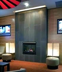tiled fireplace wall porcelain tile lovely in front of furniture white pictures fireplaces modern t