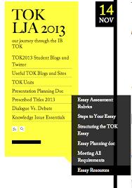 vlog series richard van de lagemaat s guide to the tok essay  vlog series richard van de lagemaat s guide to the tok essay tok lja 2013