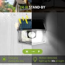 Solar Light Packs Mpow 30 Led Solar Light Outdoor Pir Motion Sensor Lights 2 4 Packs 19 5 High Efficient Solar Panel 270 Wide Illumination Angle