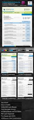 professional invoice indesign template set by graphicartist professional invoice indesign template set proposals invoices stationery