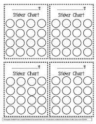 Incentive Chart Freebie Preschool Behavior Classroom