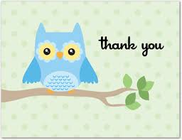 Enchanting Thank You Card Baby Shower Wording 66 In Cute Baby Owl Baby Shower Thank You Cards