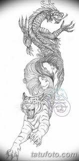 эскиз тату тигра на руке 08032019 Tatufotocom 1 Tatufotocom