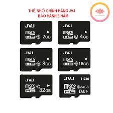 ⚡FREE SHIP⚡ Thẻ nhớ 64Gb/32GB/16GB/8GB/4GB/2GB Thẻ nhớ JVJ Class 10 Tốc độ  cao chuyên dụng cho điện thoại, camera