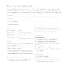Why Is It Important To Have A Birth Plan My Birth Plan Template