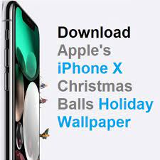 Christmas Balls Wallpaper For iPhone X ...