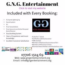 g n g entertainment dj tyne and wear tyne and wear photo