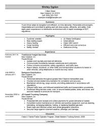 Truck Driver Resume Phil Impressive Templates Example Objective Tow