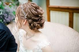 花嫁のイメージ別ウェディングドレスに似合うヘアスタイル集 Part 2