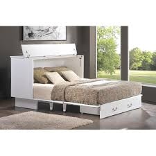 Cottage-Style Cabinet Pull-Out Queen-Size Bed - Free Shipping Today -  Overstock.com - 20018323