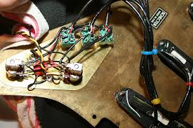 restoring a schecter dream machine electronics mark knopfler the whole circuit design has been modified