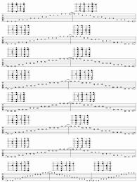 Guitar Tab Chart Pdf 12 Whole Fretboard Blues Scale Forms In A Pdf Guitar Tab