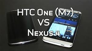HTC One (M7) vs. Google Nexus 4 comparison - YouTube