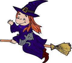Witch Broom Cat - Free vector graphic on Pixabay