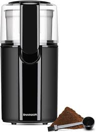 Use a burr grinder to have consistency in the. Amazon Com Shardor Coffee Grinder Electric Coffee Bean Grinder Electric Nut Grinder With 1 Removable Stainless Steel Bowl Black Kitchen Dining