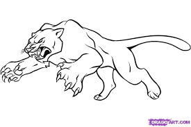 Small Picture panther coloring pages