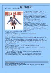 english teaching worksheets billy elliot english worksheets billy elliot