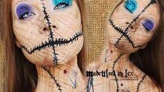 i am in love with this video voodoo doll makeup tutorial original video by madeyewlook by lex