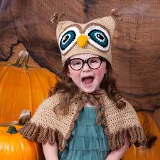 Red Heart It's a Hoot Owl Hat & Cape | Yarnspirations