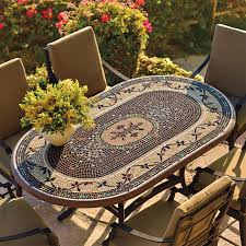 moroccan patio furniture. Impressive Mosaic Tile Outdoor Table Tables Frontgate Blog Moroccan Patio Furniture