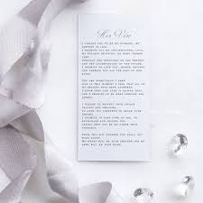 1st paper first anniversary gift wedding vows keepsake