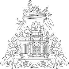Garden Coloring Sheets Garden Coloring Pages House Colouring Pages