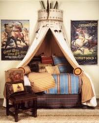 amazing tee-pee canopy for boys bed. / For the bedroom - Juxtapost
