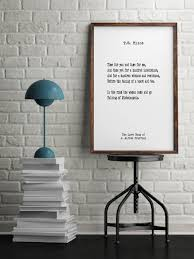 T.S. Eliot, Book Quotes, Wall Art, Inspiring Quotes, Minimalist Art,  Vintage Art, Home Decor, Typographic Art, Literary Art, Library Art