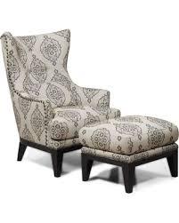 Great Deals on Charleston Antique Espresso Accent Chair & Ottoman