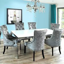 large size of chair navy dining room chairs blue velvet cushions tacsuo crushed high back grey